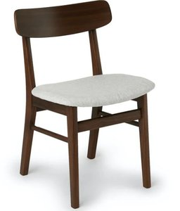 Article Ecole Dining Chair Mist Gray & Walnut