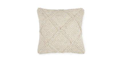 Criss Boho Pillow Natural Ivory