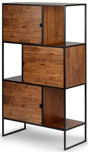 "Rictu 48"" Bookcase Walnut"