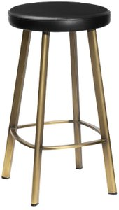 Article Saldo Counter Stool Black & Bronze