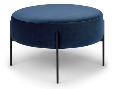 Macca Ottoman Cascadia Blue