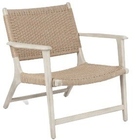 Article Reni Chair Brushed Taupe & Washed Oak