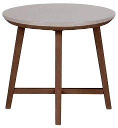 Article Olen Walnut Side Table Walnut And Concrete