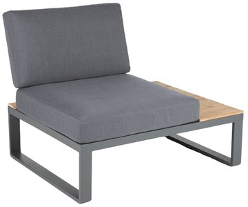Article Kezia Right Side Sofa Module Whale Gray