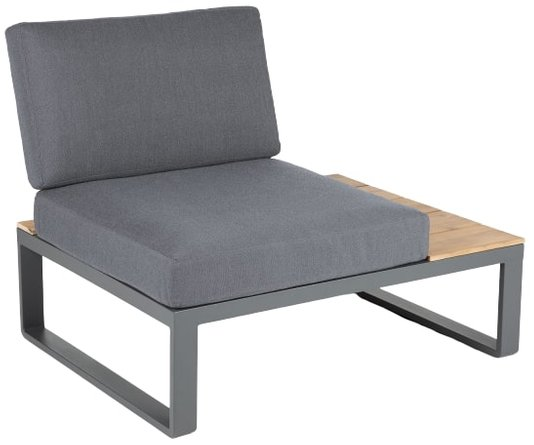 Article Kezia Right Side Sofa Module Whale Gray