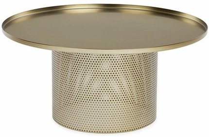 Equa Coffee Table Brushed Brass