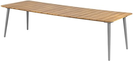 Article Latta Dining Table For 10 Beach Sand & Natural