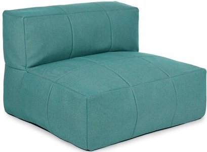 Article Corvos Module Armless Chair Ocean Teal