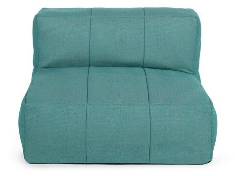 Article Corvos Module Armless Chair Ocean Teal