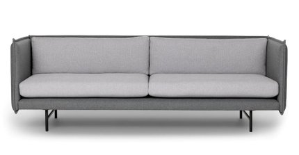 Hudson Duo Sofa Gray