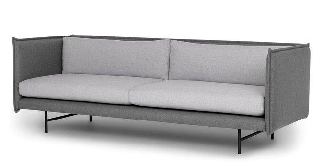 Hudson Duo Sofa Gray