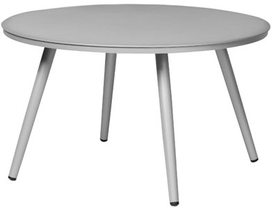 "Article Halden 28"" Round Side Table Light Gray"
