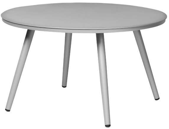 """Article Halden 28"""" Round Side Table Light Gray"""