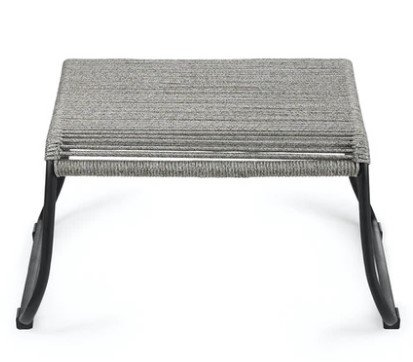 Article Mirow Ottoman Freckle Gray