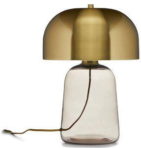 Article Koepel Table Lamp Smoke And Brass