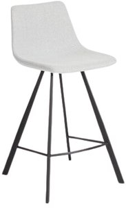 Article Wilsta Counter Stool Drizzle Gray