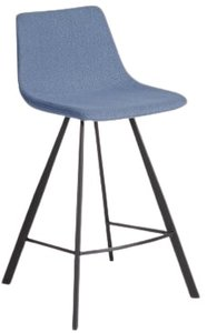 Article Wilsta Counter Stool Shoreline Blue