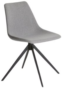 Article Wilsta Swivel Dining Chair Stratus Gray