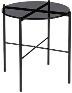 Article Silicus Side Table Smoke & Black