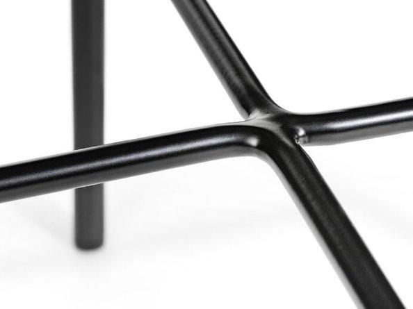Article Silicus Side Table Smoke & Black