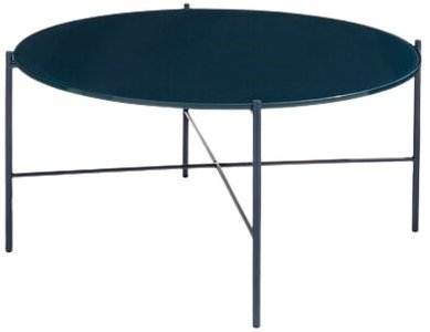 Article Silicus Round Coffee Table Navy