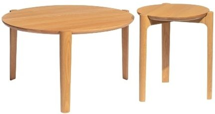 Article Boreka Nesting Tables Oak
