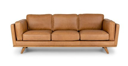 Timber Mid-Century Modern Sofa Tan