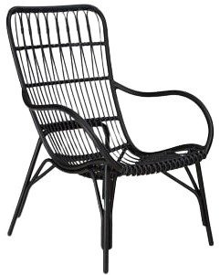 Article Medan Contemporary Outdoor Lounge Chair Graphite