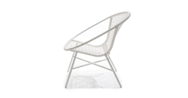 Article Medan Contemporary Lounge Chair White