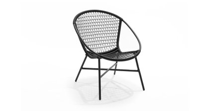 Sala Outdoor Lounge Chair Graphite