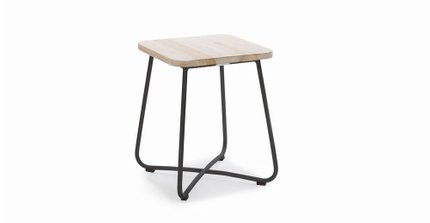 Nimbus Contemporary Outdoor Side Table Graphite