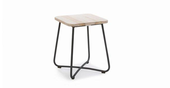 Nimbus Contemporary Outdoor Side Table Graphite