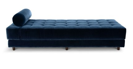 Seven Mid-Century Modern Daybed Cascadia Blue