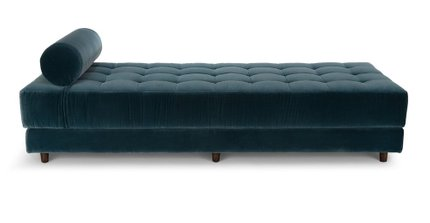 Seven Mid-Century Modern Daybed Pacific Blue
