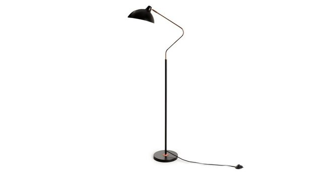 Leap Floor Lamp Black