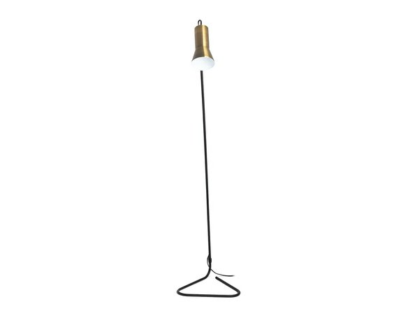 Article Torch Floor Lamp Black