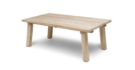 Teaka Dining Table For 6 Natural Teak
