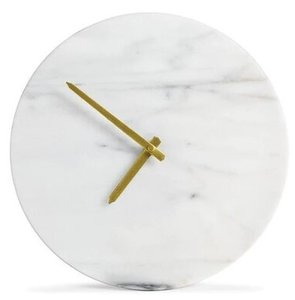 Article Maris Marble Clock White