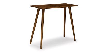 Seno Modern Bar Table Walnut