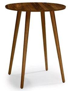 Article Seno Modern Round Bar Table Walnut