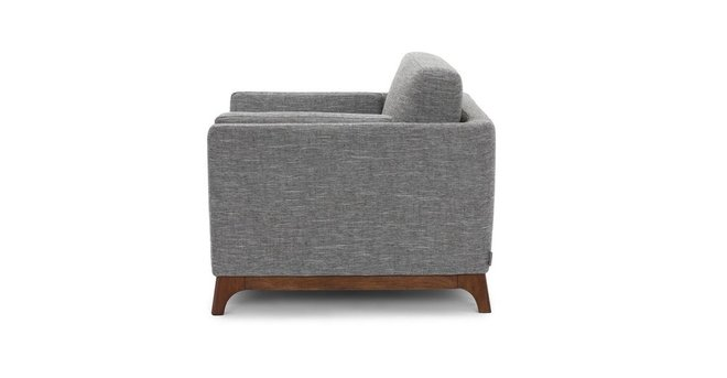 Article Ceni Mid-Century Modern Lounge Chair Volcanic Gray