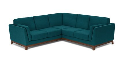 Ceni Corner Sectional Lagoon Blue