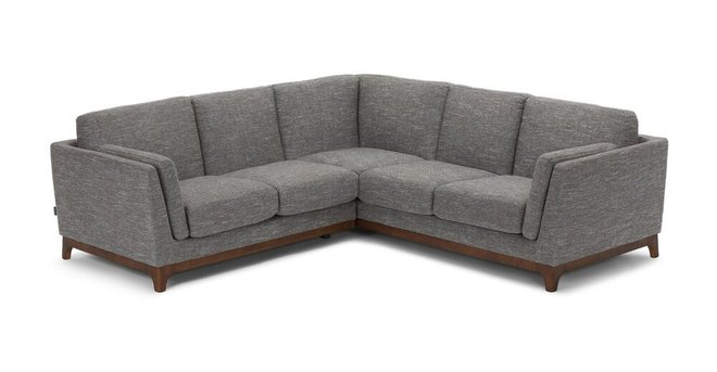 Ceni Corner Sectional Volcanic Gray