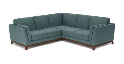 Article Ceni Corner Sectional Aquarius Aqua