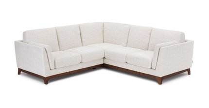 Ceni Corner Sectional Fresh White