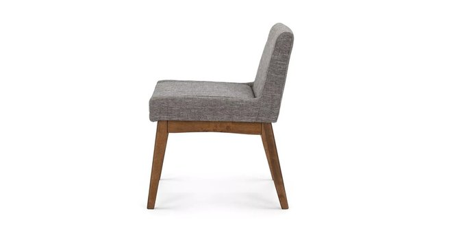 Article Chanel Modern Low Back Dining Chair Volcanic Gray (Set Of 2)