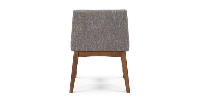 Chanel Modern Low Back Dining Chair Volcanic Gray (Set Of 2)