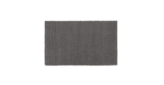 Bridle Rug 5 X 8 Anthracite Gray