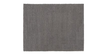 Bridle Rug 8 X 10 Anthracite Gray