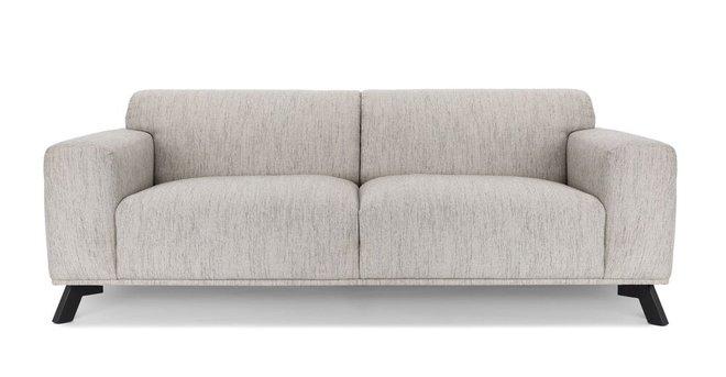 Article Volu Mid-Century Modern Fabric Sofa Vanilla Cream